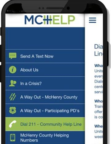 McHelp App screenshot